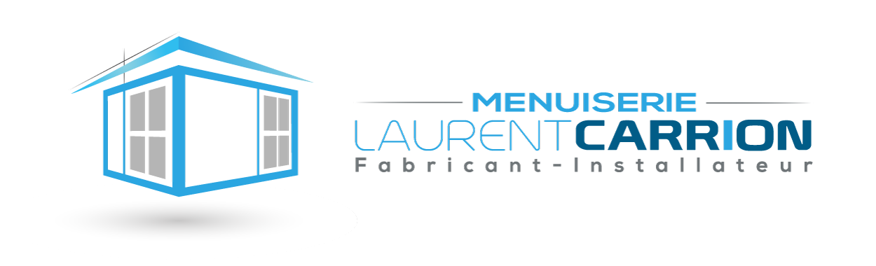 Logotype - Menuiserie Laurent CARRION - horizontal